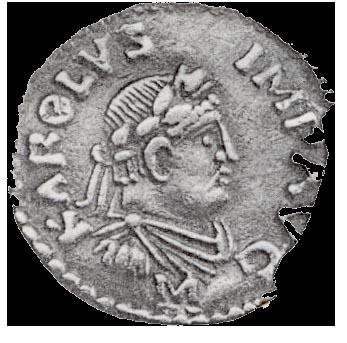 piece de monnaie charlemagne